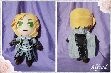 [Plush] Alfred the Executioner (Commission) by ErinaCrafts