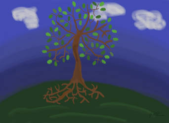 Tree by momoclone
