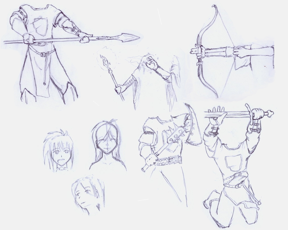 Different Fighting Stances