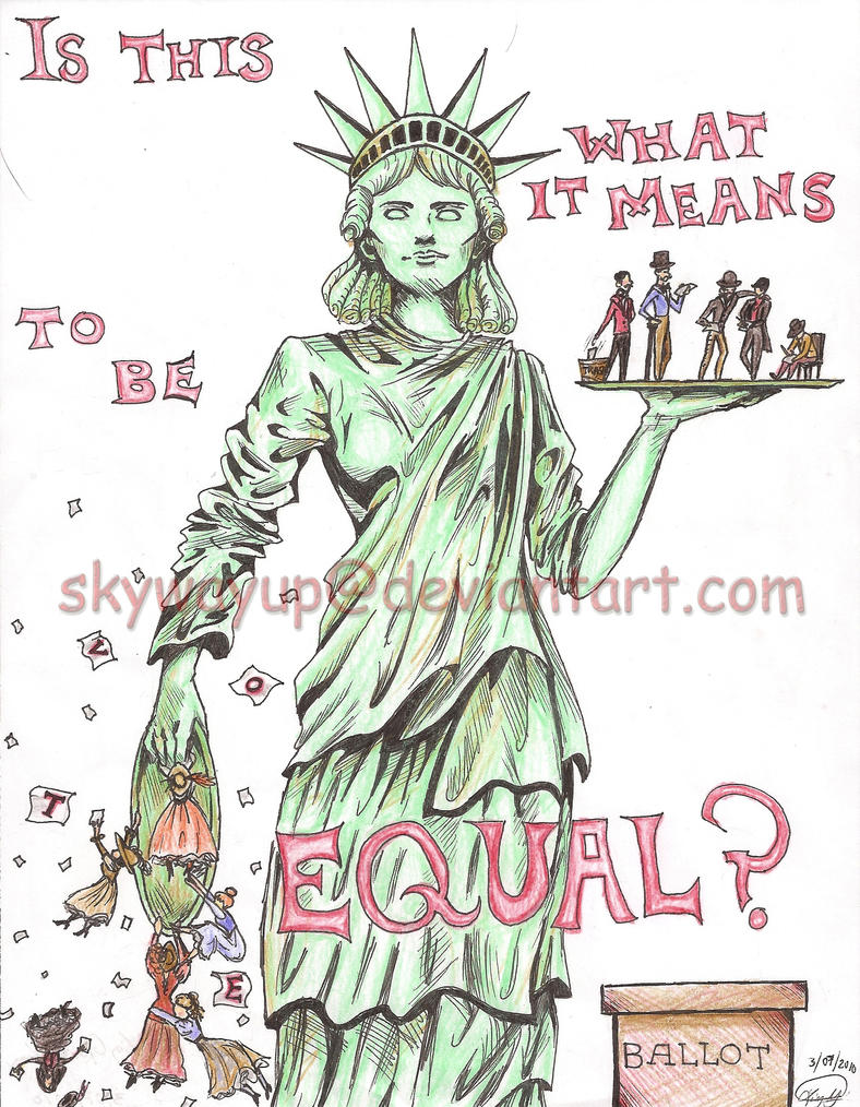 Woman s suffrage poster by skywayup on deviantart