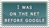Before Google Stamp by duncan-blues