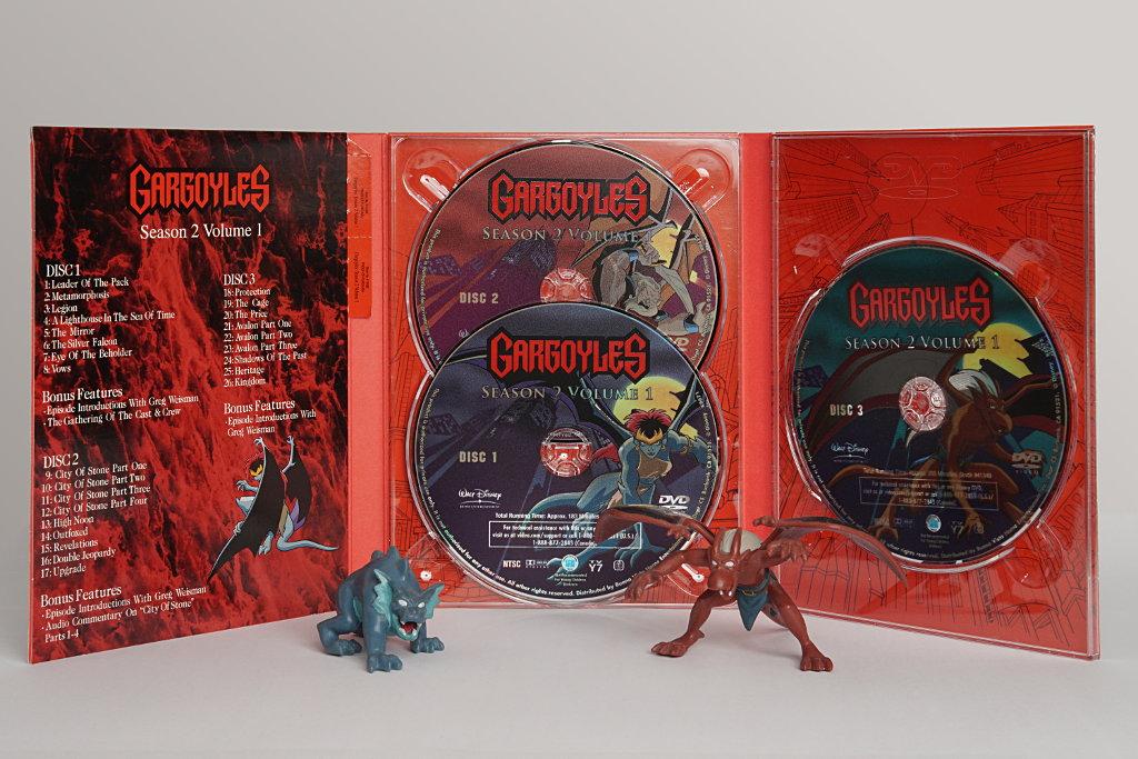Gargoyles - Season 2 Part 1 - DVD Set by duncan-blues