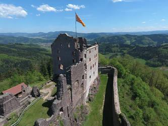 Castle Hohengeroldseck by duncan-blues