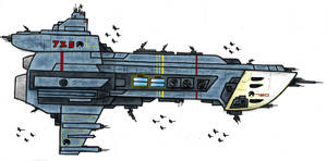 Spaceship by mkonji