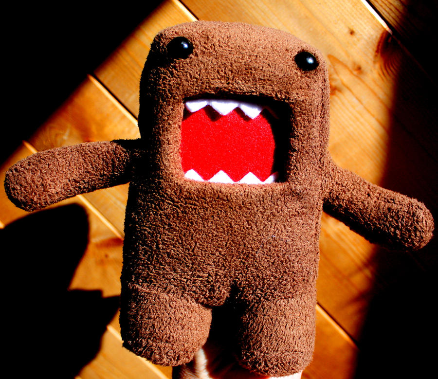 Stuffed Rawr Thing by KeswickPinhead