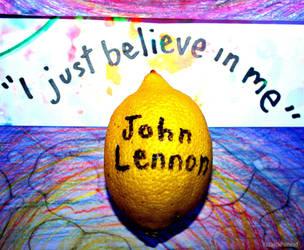John Lennon doesn't believe by KeswickPinhead