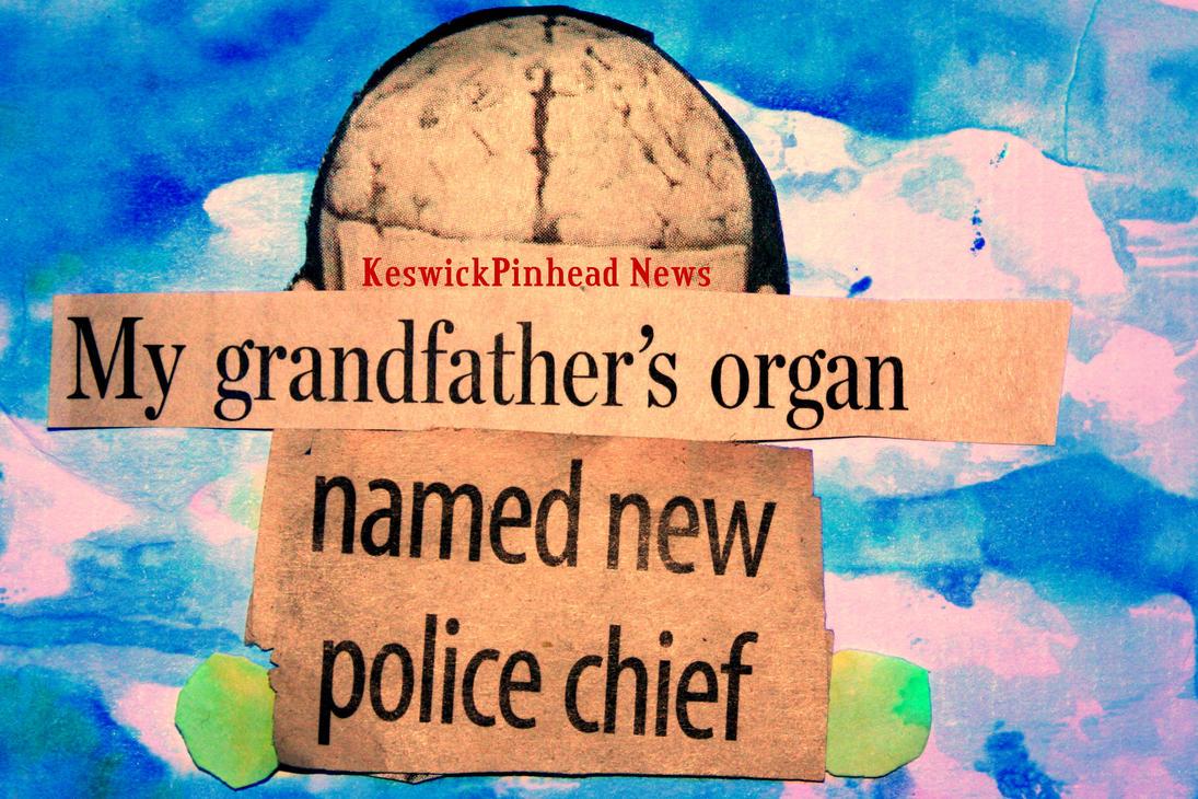 Granddads Head Dick by KeswickPinhead