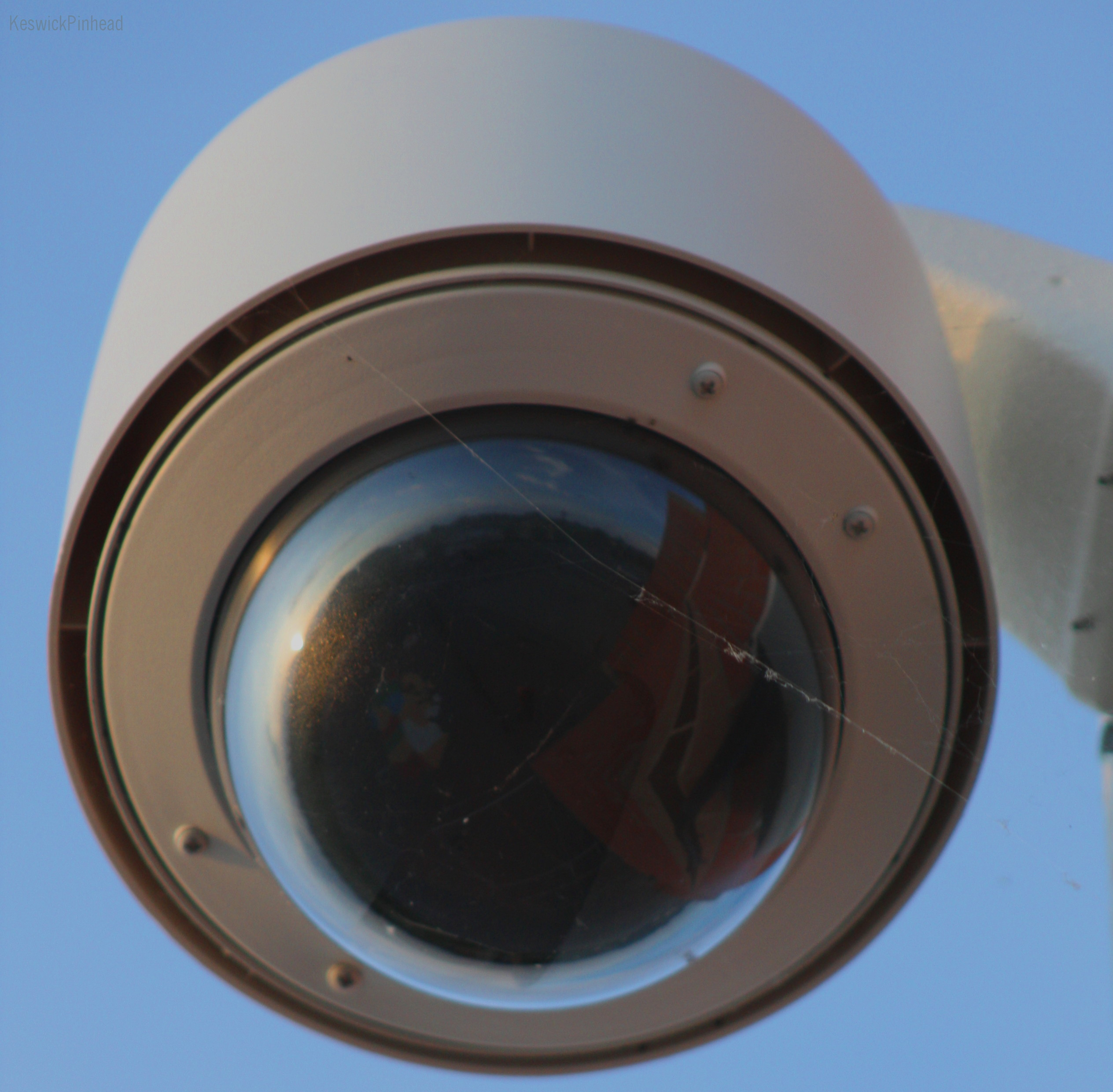 Wave Your Middle Finger At The Surveillance Camera By