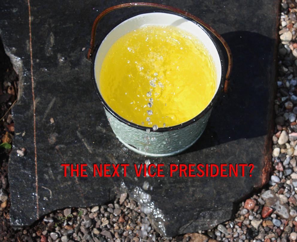 Romney's Vice President Pick by KeswickPinhead