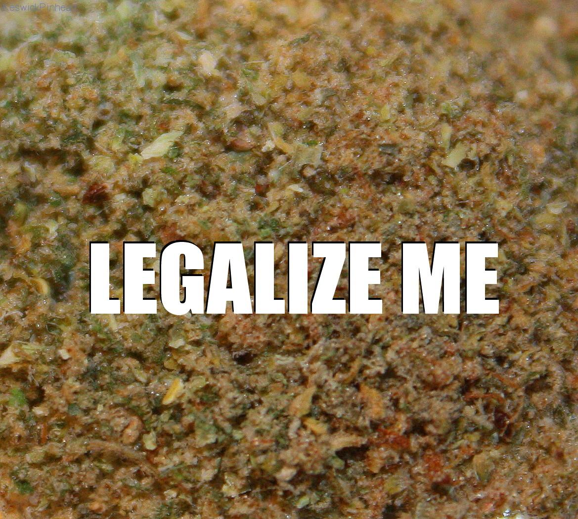LEGALIZE ME by KeswickPinhead