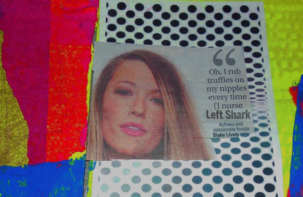 Fun Facts w Blake Lively and Left Shark by KeswickPinhead