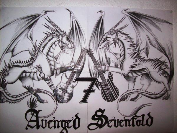 A7X Logo by Revie6661