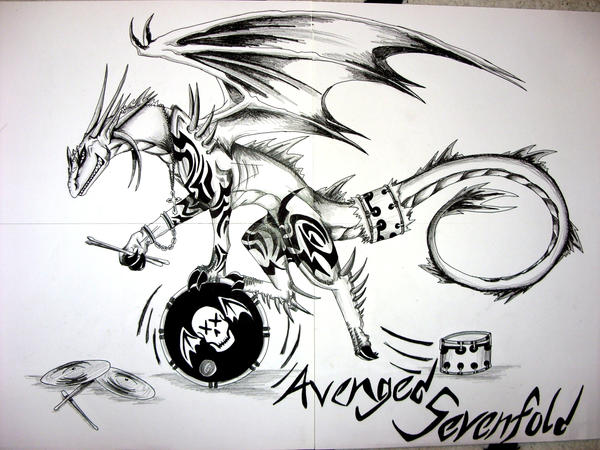A7X Logo II by Revie6661