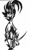Wolf Tatoo by Greenyfoxy