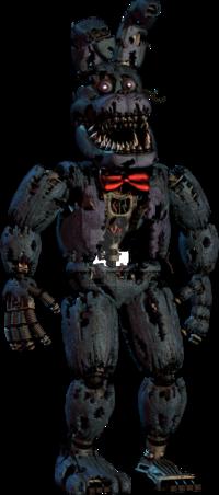 Nightmare Bonnie by DarkVirus87