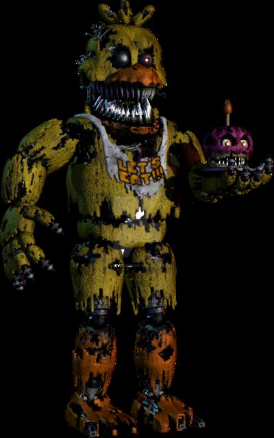 Nightmare Chica by DarkVirus87