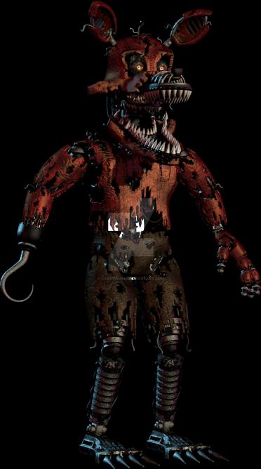 Nightmare Foxy by DarkVirus87