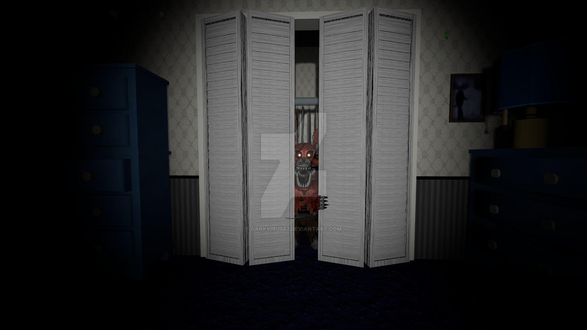 [FNaF SFM] Nightmare Foxy by DarkVirus87