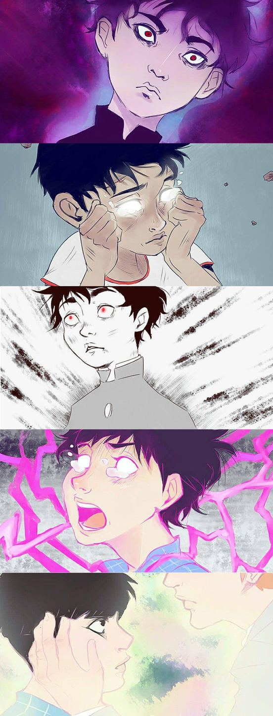Mob's Emotions by teaorchid