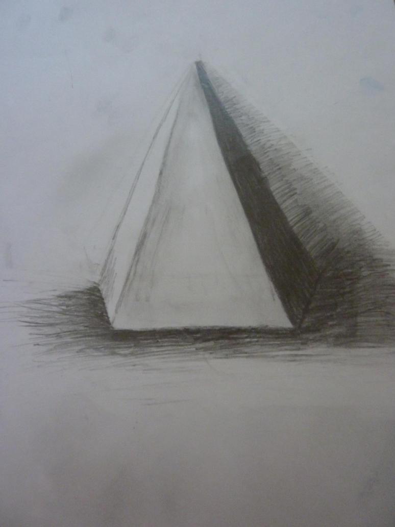 Hexagonal Pyramid In Real Life