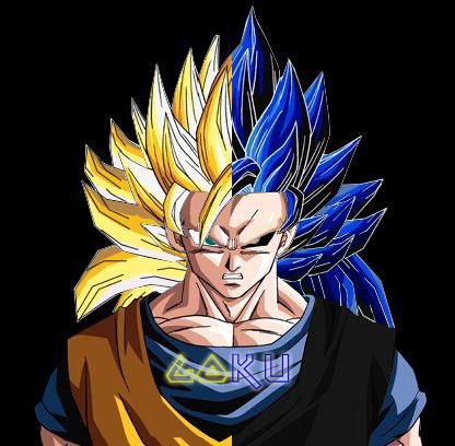 goku and gohan super saiyan  Goku VS Evil Goku by