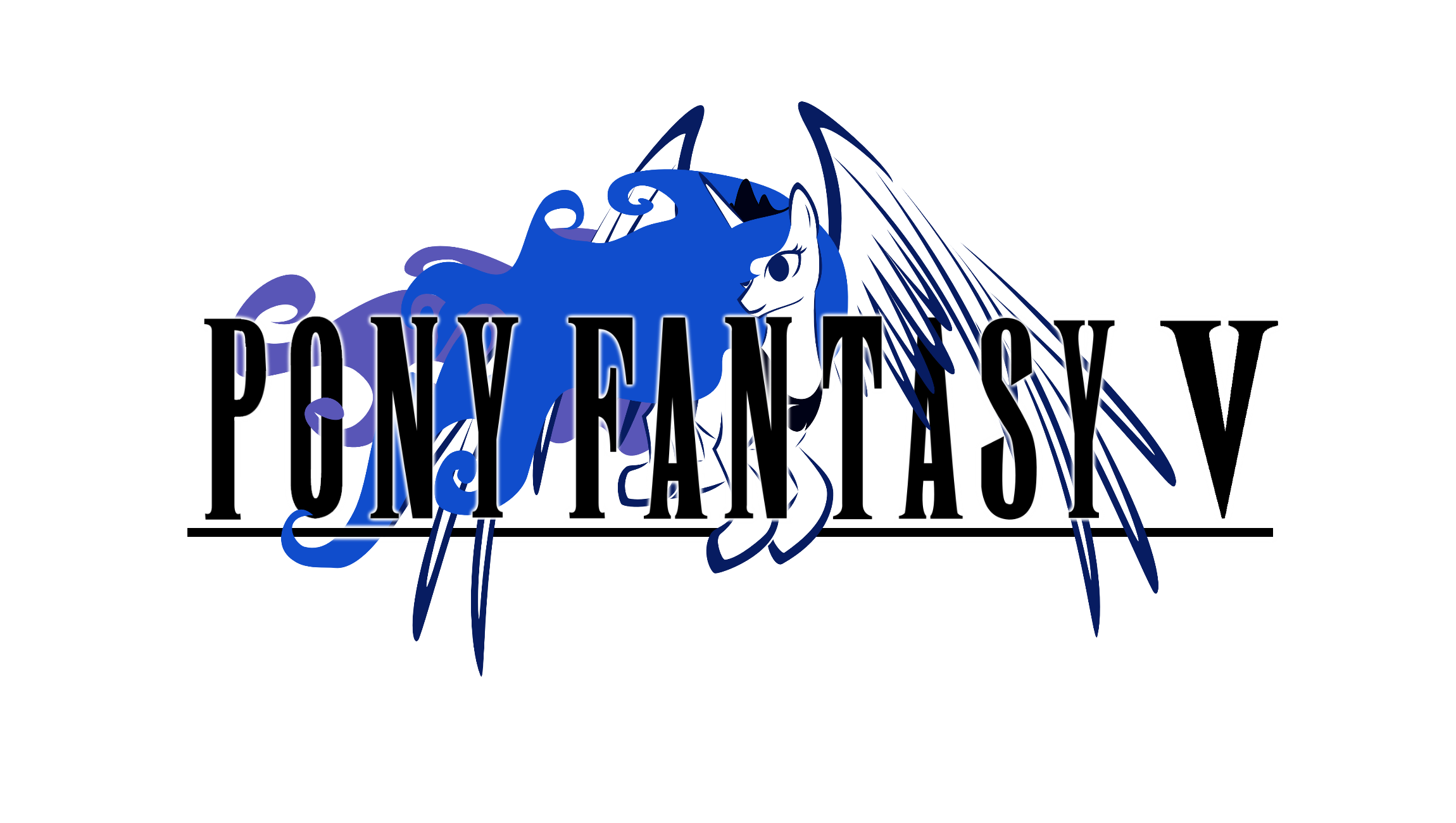 Pony Fantasy V Logo by TheAuthorGl1m0