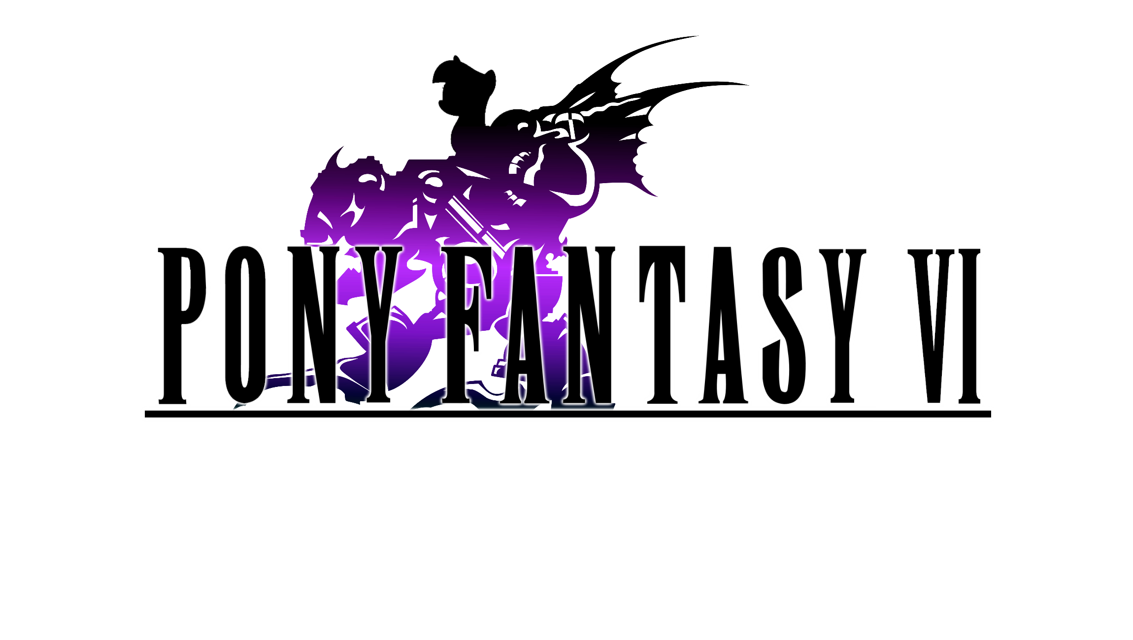 Pony Fantasy VI Logo by TheAuthorGl1m0
