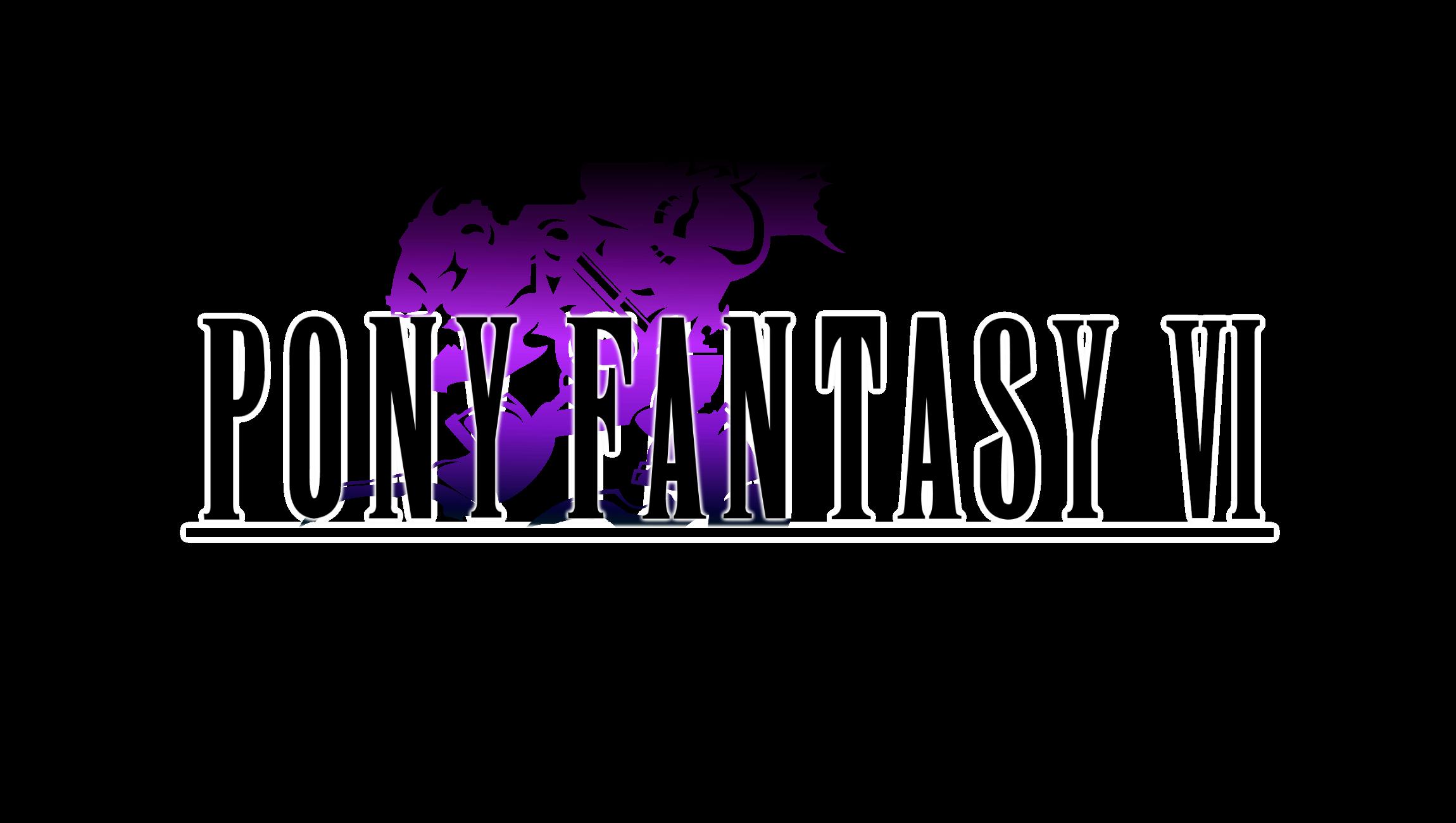 Pony Fantasy VI Logo by TheAuthorGl1m0