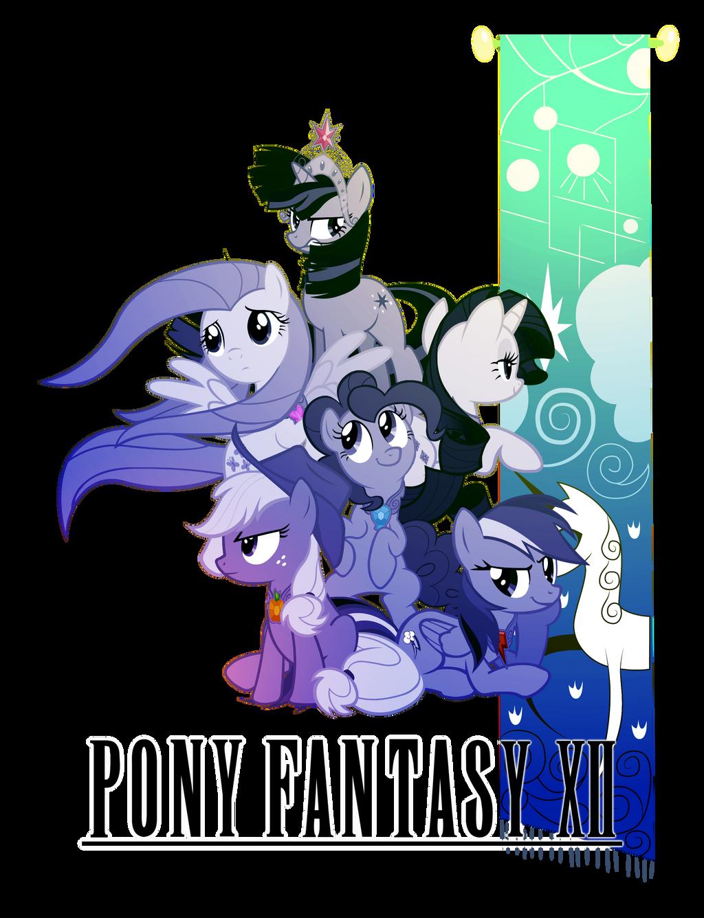 Pony Fantasy XII Logo by TheAuthorGl1m0