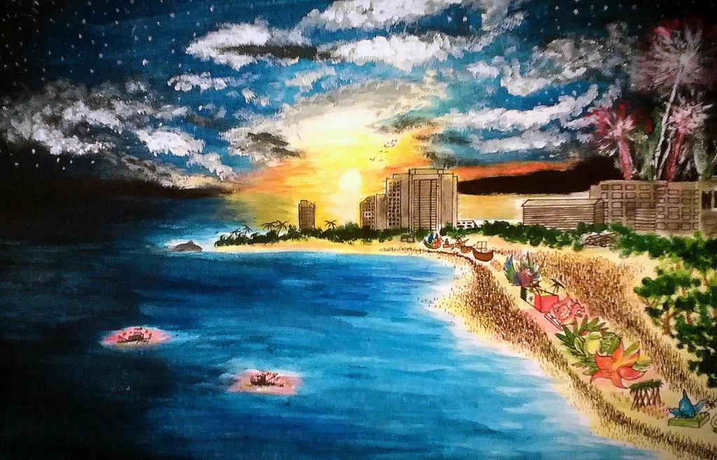 Setting Paradise by StarfallenWolf
