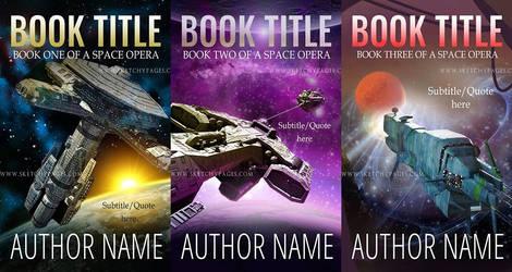 Sci-Fi Premade Book Covers