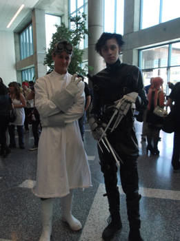 Dr. Horrible and Edward Scissorhands