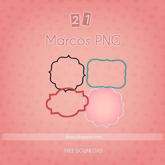 Pack marcos en PNG (PNG frames) by DiyVa-Jessica