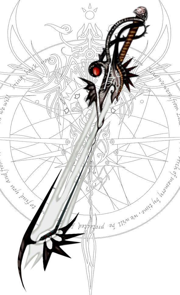 Arkhel sword design by BlueSand-Tiger