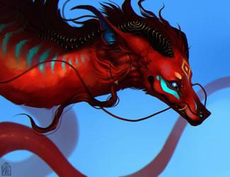Eastern Dragon by RAE-77