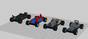 Lego Racer Circut #3 Cars