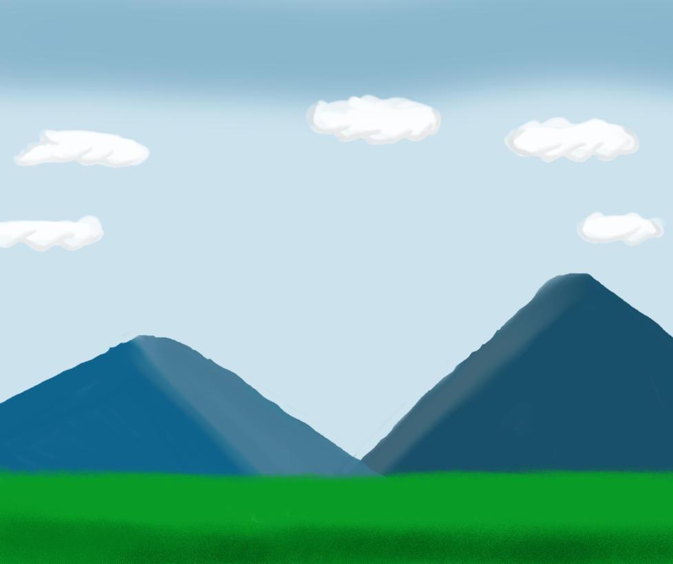 Landscape Drawing by mattmc95