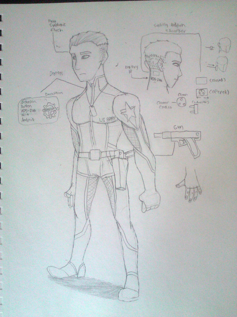 Aiden Refrence Drawing by mattmc95
