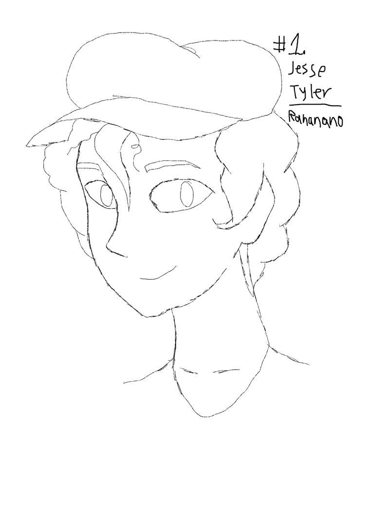 Sketch #1, Jesse Tyler by mattmc95