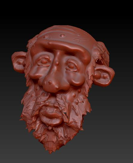 First Model on ZBRUSH by MarcSantana