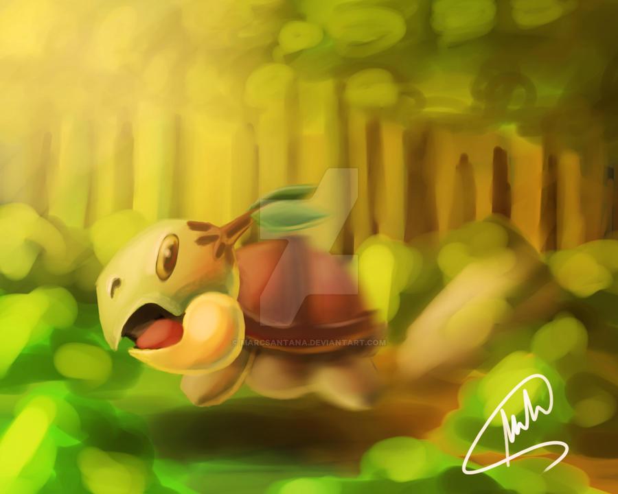 Pokemon Turtwig by MarcSantana