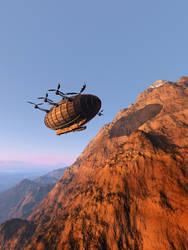 Airship by daleziemianski
