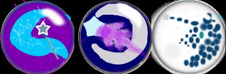 Trixie/Luna Fusion Pins by SeashellAttorney