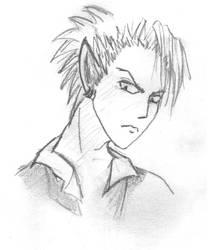 Hiruma Sketch 02 by HelloSugah