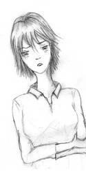 Mamori Sketch 02 by HelloSugah