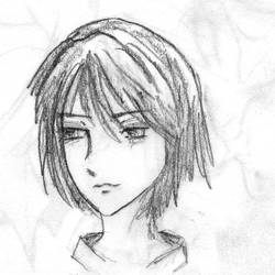 Mamori Sketch 03 by HelloSugah