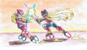 Zero vs Omega coloured