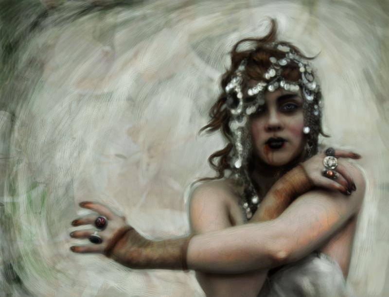 Vampire girl by lidiaBartlam