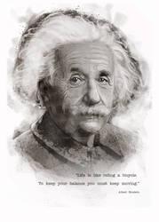 Hero - Albert Einstein
