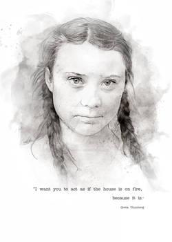 Hero - Greta Thunberg